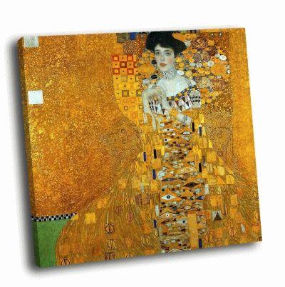 Репродукция картины густав климт - портрет адели блох-бауэр i