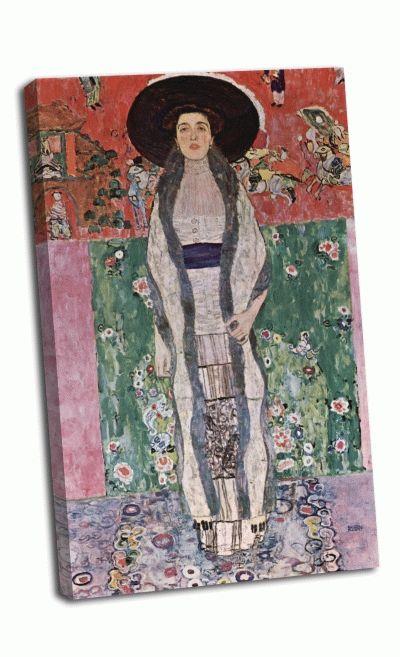 Репродукция картины густав климт - портрет адели блох-бауэр ii