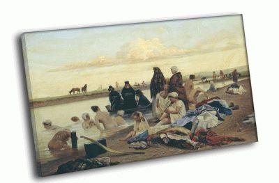 Репродукция картины и. репин - приплыли