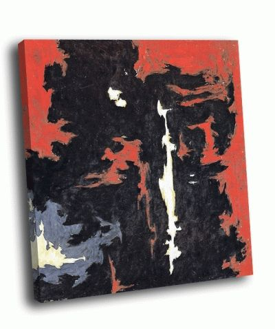 Репродукция картины клиффорд стилл - 1949-a-№ 1