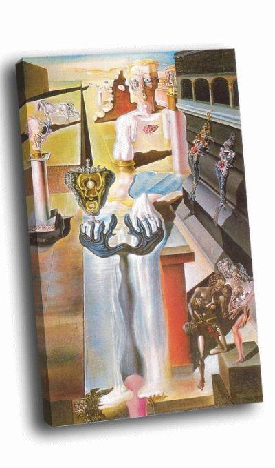 Репродукция картины сальвадор дали - незримый человек