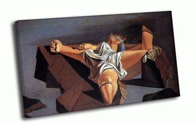 Репродукция картины сальвадор дали - плоть на камнях
