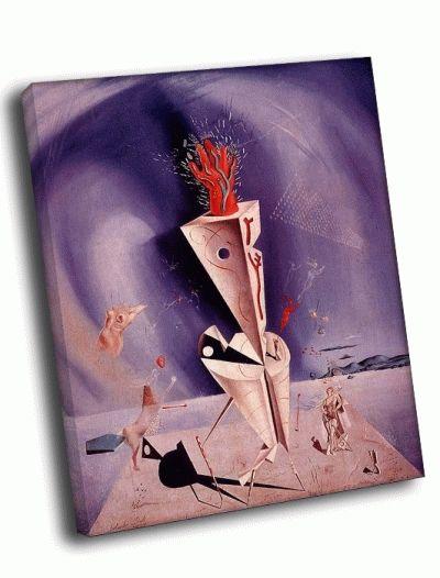 Репродукция картины сальвадор дали - приспособление и рука