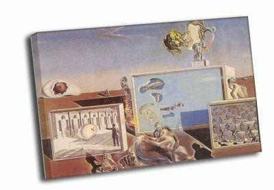 Репродукция картины сальвадор дали - просвещённые удовольствия