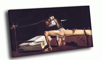 Репродукция картины сальвадор дали - вильгельм телль