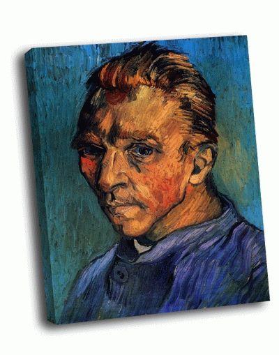 Репродукция картины ван гог - портрет художника без бороды