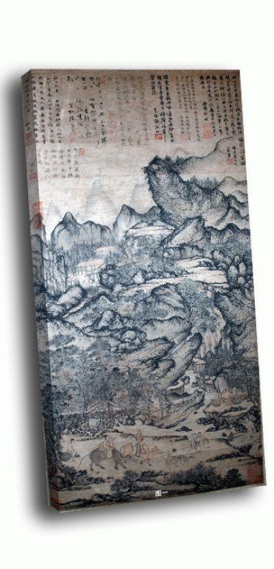 Репродукция картины ван мэн - переселение жичуана