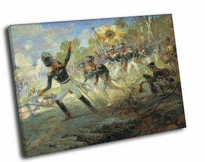Репродукция картины война 1812 года