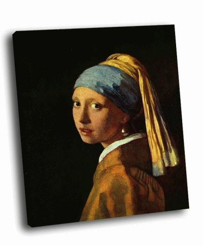 Репродукция картины ян вермеер - девушка с жемчужной серёжкой