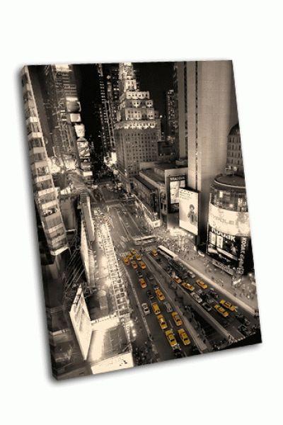 Такси на Таймс-сквер