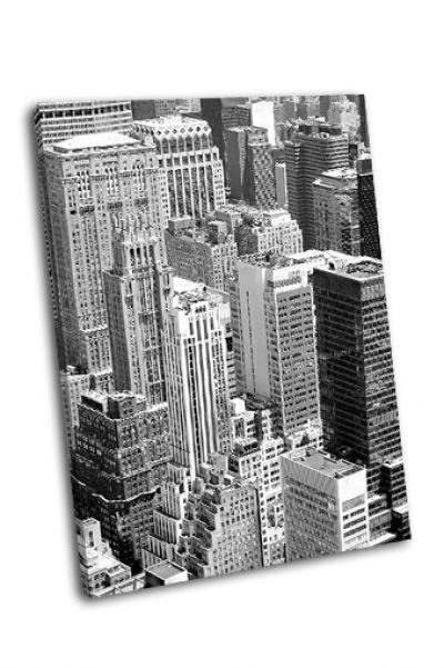 Небоскребы Нью-Йорке