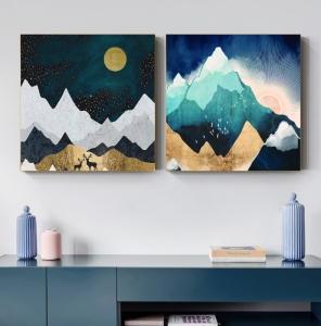 """Комплект картин  """"Дивные горы"""""""