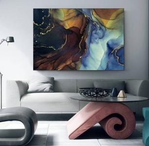 Разноцветная абстракция