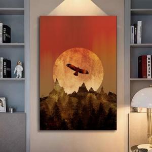 Орел над горами