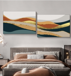 """Комплект картин """"Цветное волнение"""""""