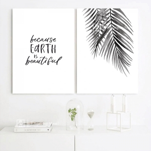 "Модульная картина ""Наша планета прекрасна"""