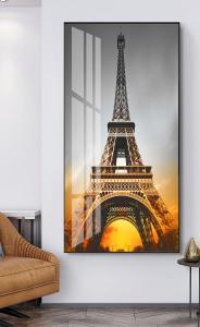 Закат в Париже