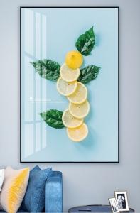 Яркий лимон