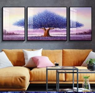 """Модульная картина """"Цветущие дерево"""""""