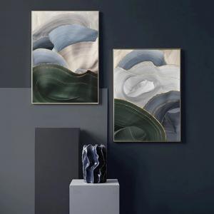 """Комплект картин  """"Цветные волны"""""""
