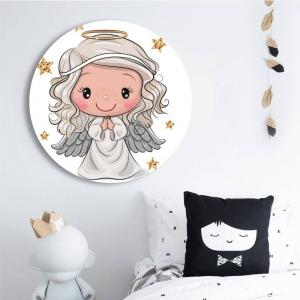 "Круглая картина ""Мой ангел"""