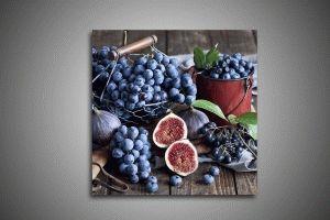 Инжир, виноград, черника