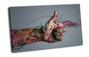 Абстракция рука