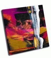 Абстрактная живопись вертикаль