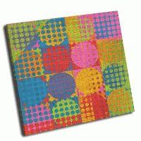 Абстрактный дизайн круги в квадратах