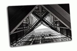 Абстрактный образ офисного здания