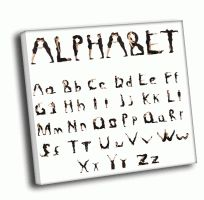 Алфавит из людей