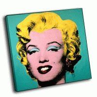 Andy Warhol - Бирюзовая Мэрилин