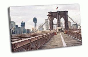Бруклинский мост, Нью-Йорк