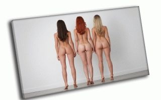 Брюнетка, блондинка, рыжая