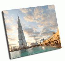Бурдж-Халифа самый высокий небоскреб