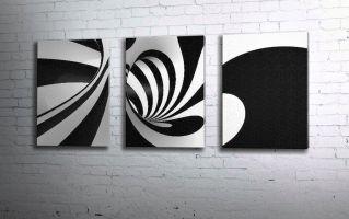 Черно-белая спираль
