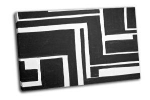 Черно-белый окрашенный фон