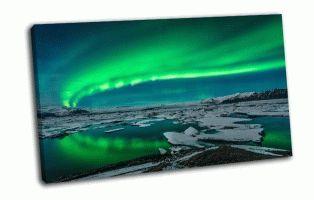 Дисплей над ледниковой Лагуной