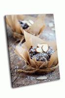 Домашние шоколадные маффины