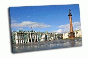 Дворцовая площадь Летом