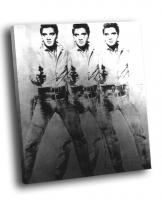 Э. Уорхол - Triple Elvis