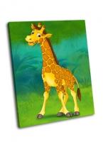 Жираф мультфильма Сафари