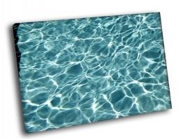 Голубая прозрачная вода