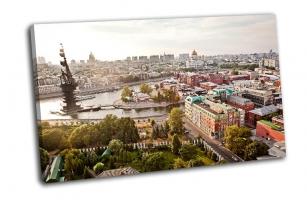 Город Москва свысока