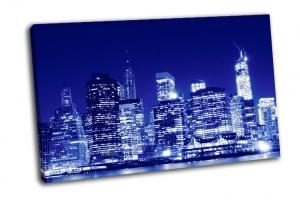 Городской горизонт Нижнего Манхэттена