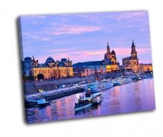Городской пейзаж Дрездена