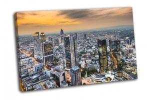 Городской пейзаж Франкфурта