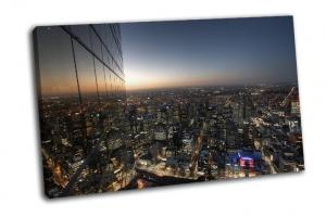 Городской пейзаж Мельбурна