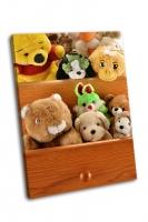 Игрушки в ящиках