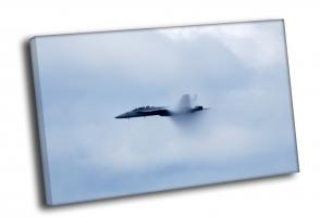 Истребитель в воздухе